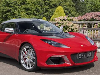 Hazel Chapman and the Jim Clark Trust special edition Evora GT410 Sport 2
