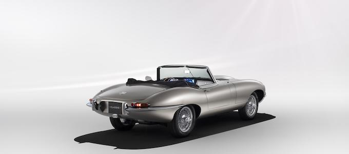 Jaguar Classic E type Zero 2