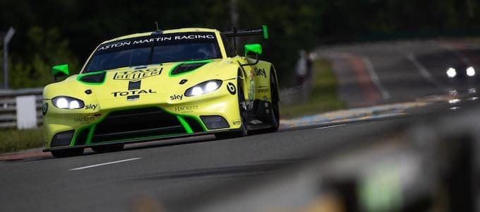 Aston Martin Racing adjusts driver line-up for remainder of 2018