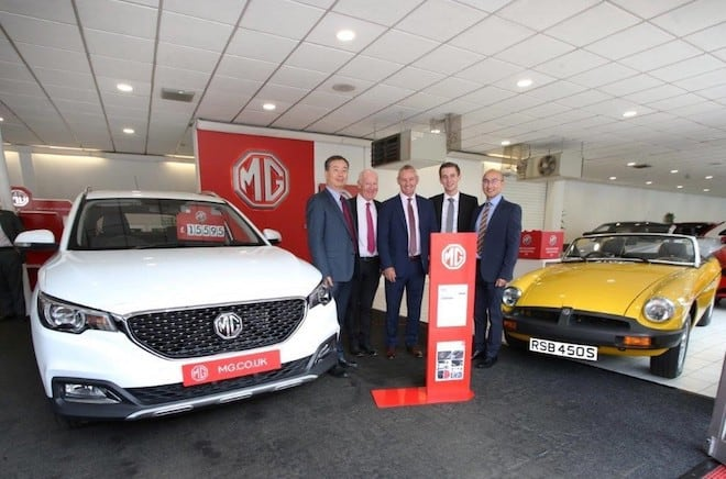MG Motor UK Dealer McMillan Motors in Greenock, Jermyn & Sons in Seaford