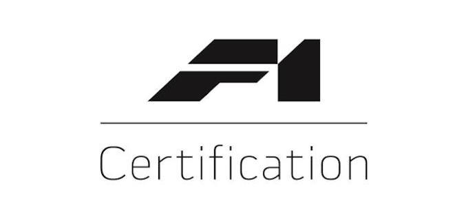 McLaren F1 Certification Logo