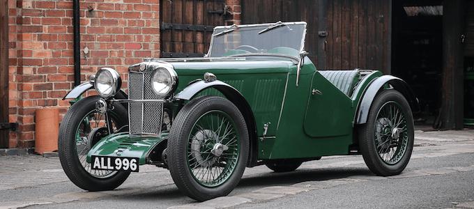 1933 MG J2 Midget £29,150