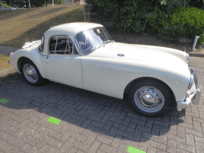 1958 MG MGA Coupe Sold for £12,650