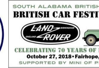 28th Annual British Car Festival 2018 - Alabama
