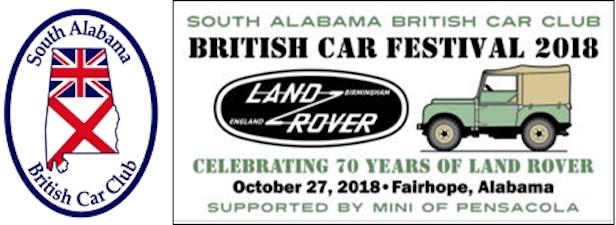 28th Annual British Car Festival 2018 - Alabama