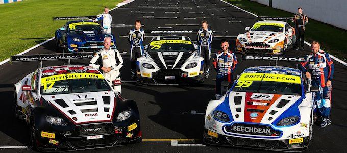 Aston Martin Wins British GT Championship 007