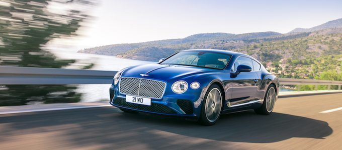 Double Gold for Bentley at German Design Awards
