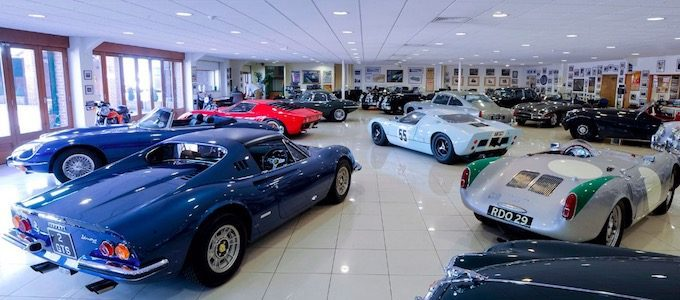 JD Classics Enters Into Administration - Showroom