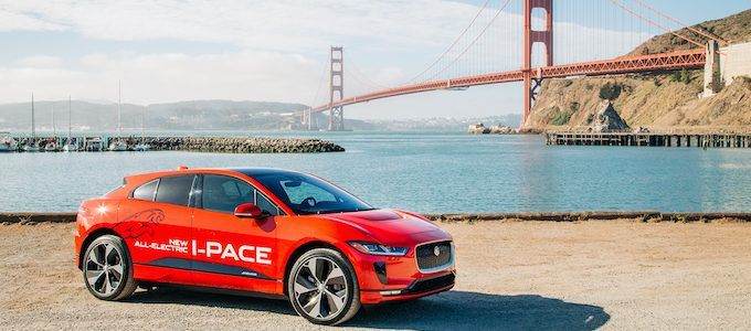 Jaguar Announces US I-PACE Marketing Campaign - red vehicle landscape ggb