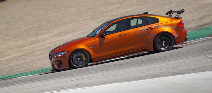 Jaguar XE SV Project 8 Sets Speed Record