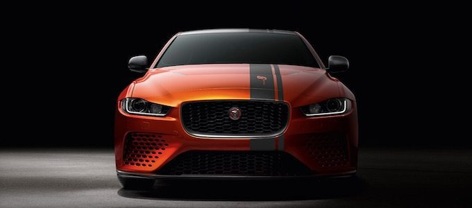 Jaguar XE SV Project 8 Sets Speed Record - Head on