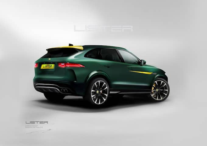LISTER LFP SUV FINAL REAR