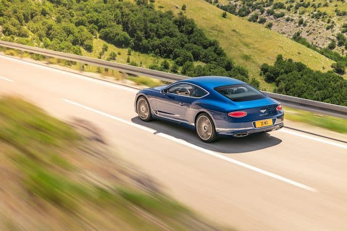 New Continental GT-5 -Double Gold for Bentley at German Design Awards