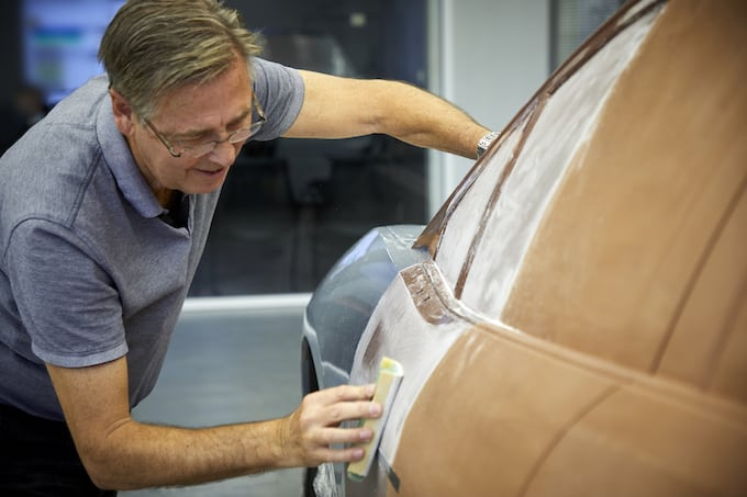 Scotland's First Design Museum Receives Unique I-PACE Clay Model - In Production