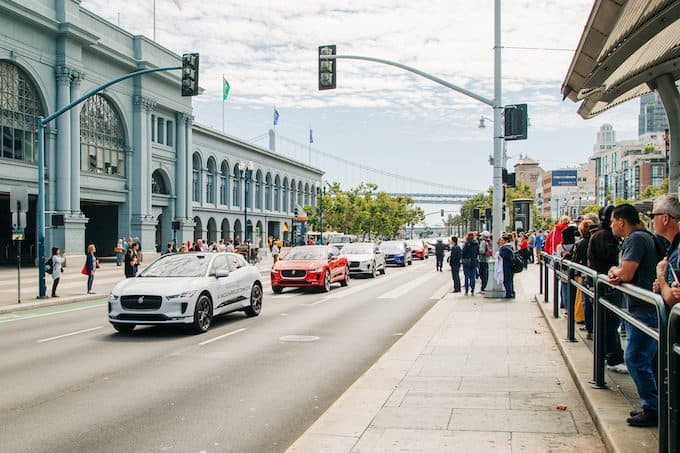 Jaguar Announces US I-PACE Marketing Campaign - ferry building