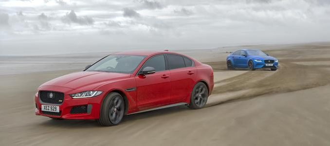 Jaguar XE 300 SPORT and SV Project 8 DNA