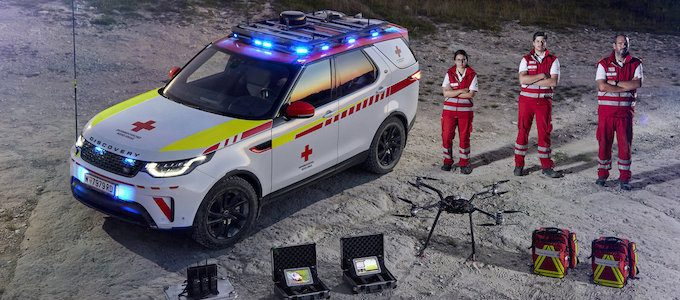 Lifesaving Land Rover Discovery Joins Red Cross Fleet