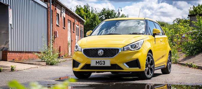 New MG3 - MG Motor UK enjoys record sales on the back of new model launches