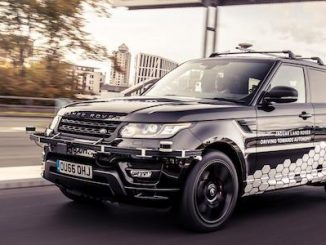 Self Driving Range Rover Sport