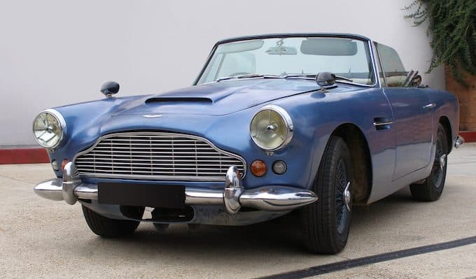 Aston Martin DB4 Convertible