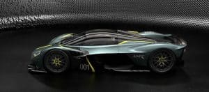 Aston Martin Valkyrie with AMR Track Performance Pack - Stirling Green and Lime livery (3)