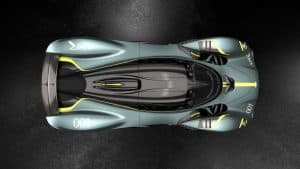 Aston Martin Valkyrie with AMR Track Performance Pack Stirling Green and Lime livery 4