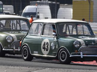 Classic Minis to party at 2019 Silverstone Classic 5