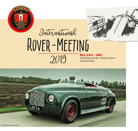 International Rover Meeting 2019 - Brochure