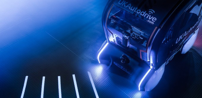 JLR Develops Projection System for Self-Driving Vehicles POD - 3