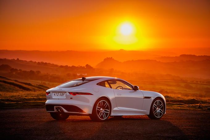 Jaguar F-TYPE Checkered Flag Limited Edition Coupe 2