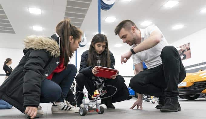 Local Students Get STEM Exposure at McLaren 1