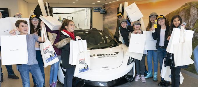 Local Students Get STEM Exposure at McLaren 3