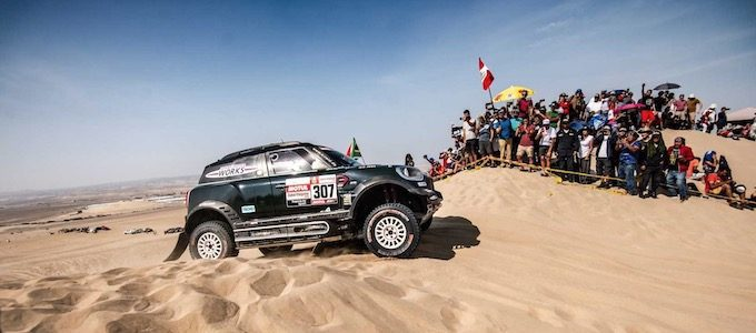 MINIs Finish Strong in Dakar Rally 2019 2