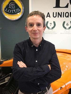 Management Appointments at Lotus Cars - Simon Clare