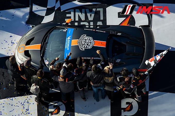 McLaren Scores Historic Victory at Daytona- IMSA Michelin Pilot Challenge