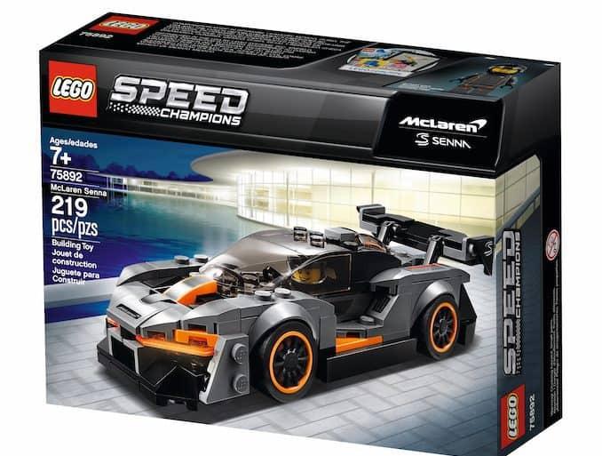 McLaren Senna LEGO box