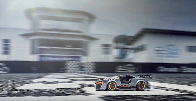 McLaren Senna LEGO dynamic