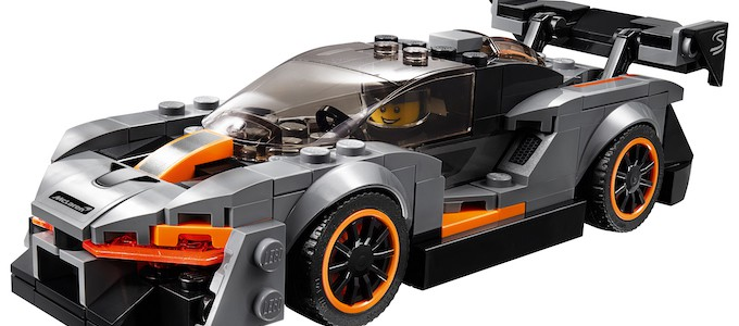 Mclaren Senna Lego Now Available Just British