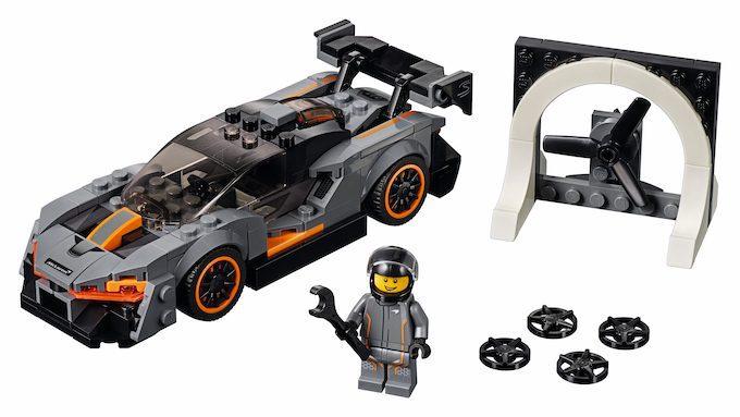 McLaren Senna LEGO pack