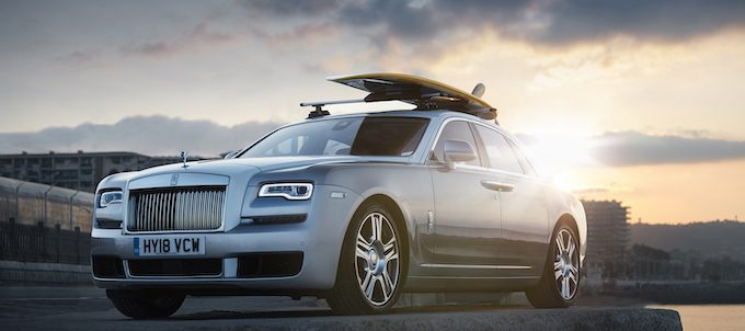 ROLLS-ROYCE GHOST AT EUROPE'S SUMMER HOT SPOT