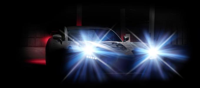 Teaser image of new Ginetta supercar prototype