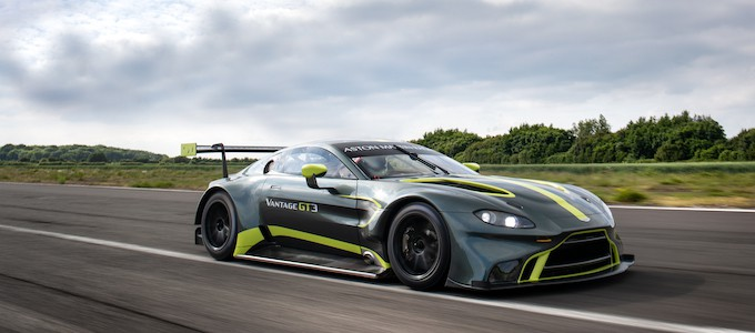 ASTON MARTIN VANTAGE GT3 TO RACE IN JAPANESE SUPER GT