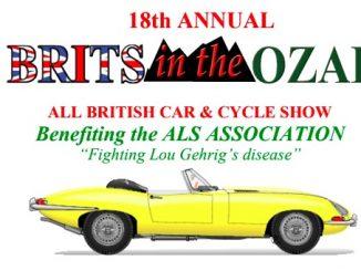 18th Annual Brits in the Ozarks - Arkansas