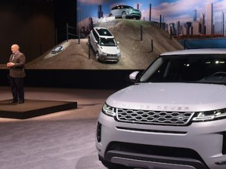 Jaguar Land Rover Debuts New Range Rover Evoque At Chicago Auto Show