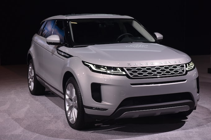 Jaguar Land Rover Debuts New Range Rover Evoque At Chicago Auto Show