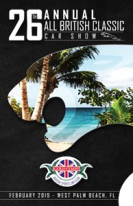 26th Annual All British Classic Car Show - Palm Beach, FL