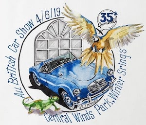 35th Annual Central Florida All British Car Show