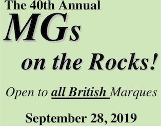 40th Annual MGs on the Rocks