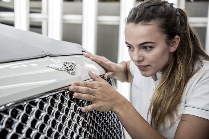 Bentley Motors Maintains Top Employer Status