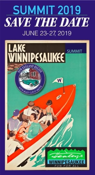 Lake Winnipesaukee Austin-Healey Summit